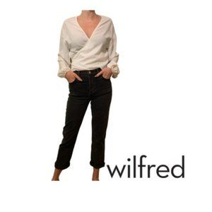 ✨Wilfred Wrap Blouse Size S